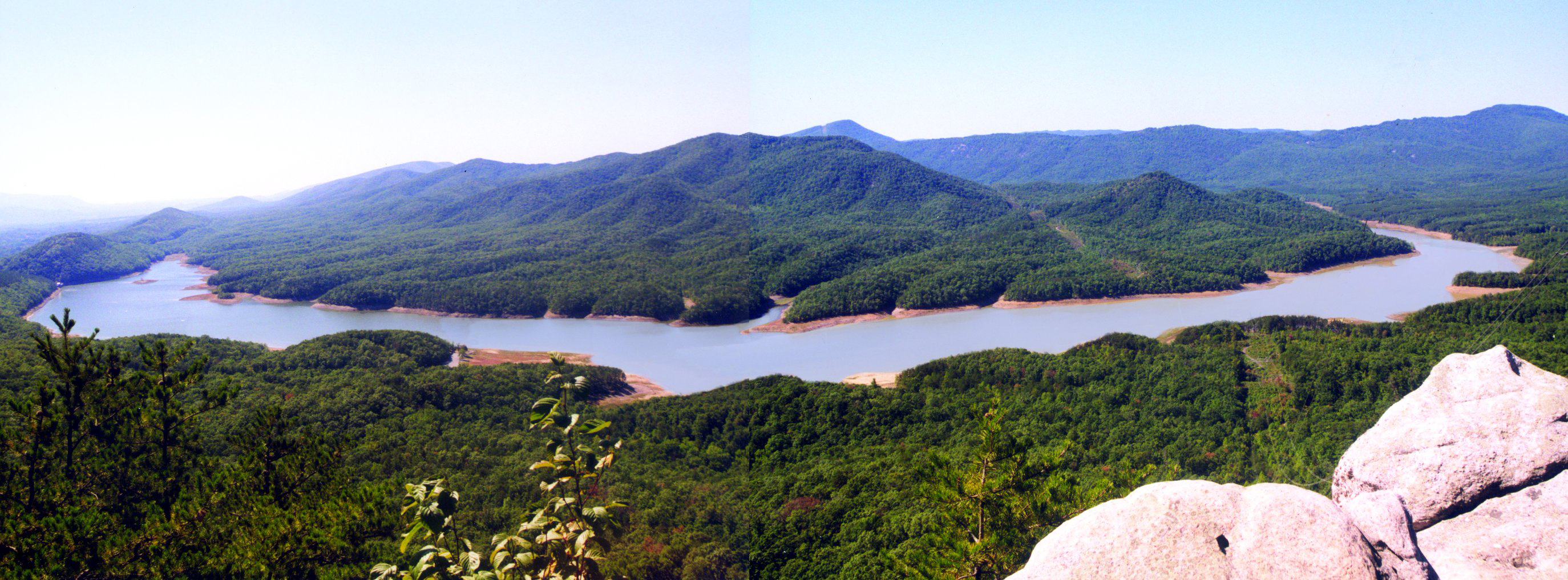 Largest conservation easement in virginia history for Carvins cove fishing
